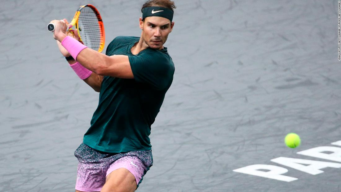 Alexander Zverev overpowers Rafa Nadal at Paris Masters