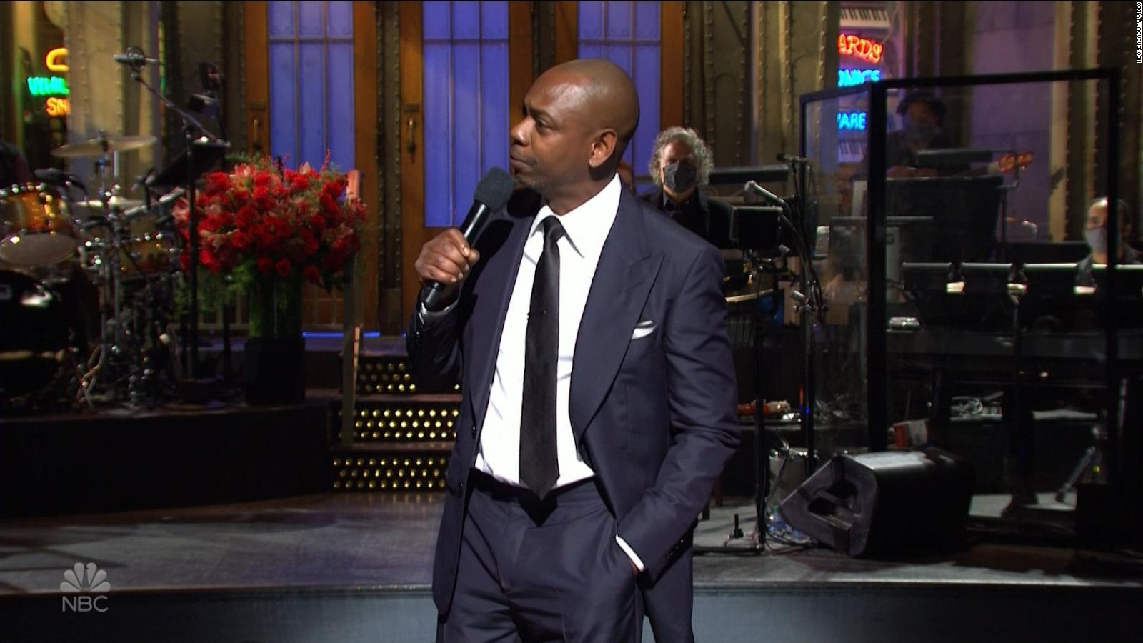 dave chappelle snl host summed up 2020 in 16 minutes and sometimes it hurt cnn snl takes aim at the presidential election