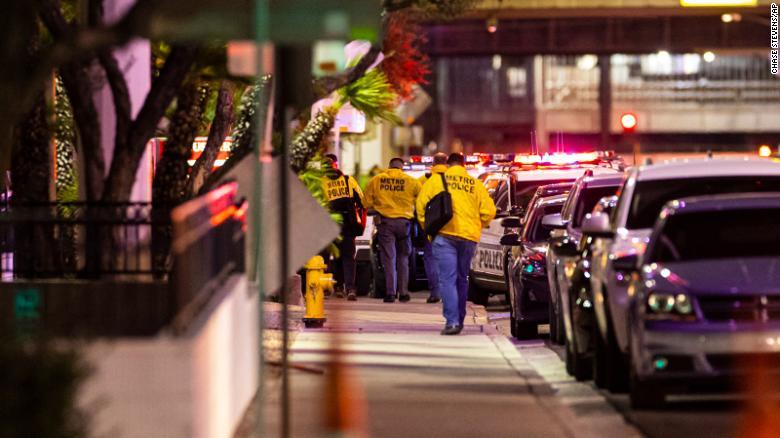 Three people shot near Circus Circus on Las Vegas Strip