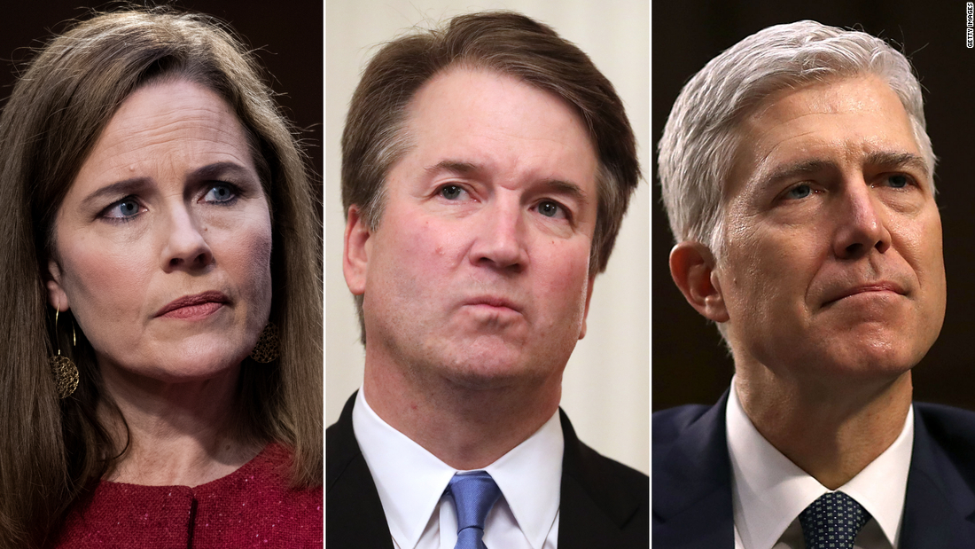 Eyes on Barrett, Kavanaugh and Gorsuch as Supreme Court decides Obamacare's future