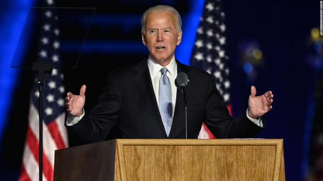 The person who bet $1.3 million on a Biden win hasn't been paid yet – CNN