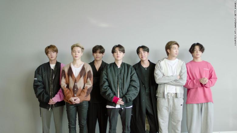 BTS and other 2020 MTV EMA winners