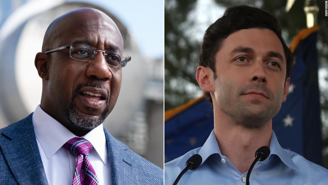 Democrats Ossoff and Warnock each raise more than $100 million for Georgia Senate runoffs – CNN