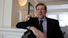 Former FDA Commissioner David Kessler poses at his home in San Francisco on April 20, 2009.