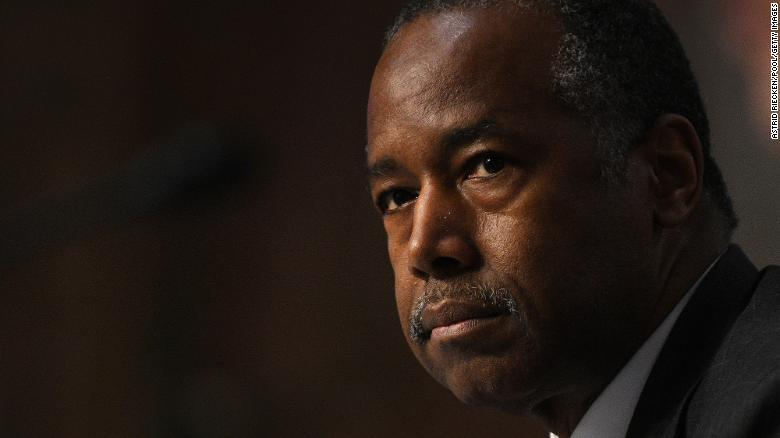 Ben Carson says he was 'desperately ill' from Covid but is now 'out of the woods'
