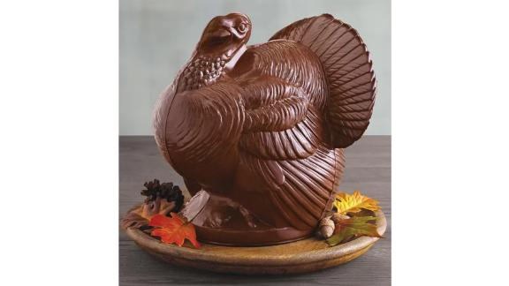 Belgian Milk Chocolate Turkey Centerpiece