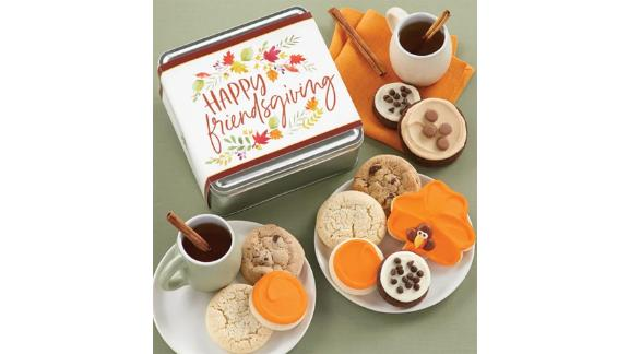 Happy Friendsgiving Treats Gift Tin
