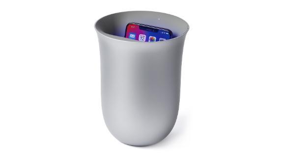 Lexon Oblio Wireless Charger & UV Cleaner