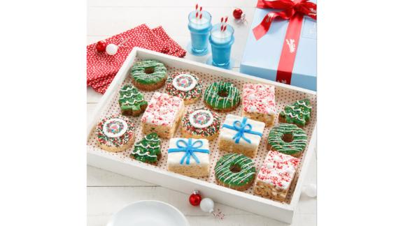 Deluxe Rice Krispie Christmas Gift Box