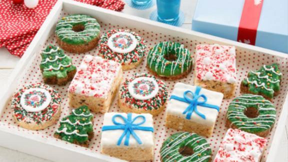 Deluxe Rice Krispie Christmas Gift Box