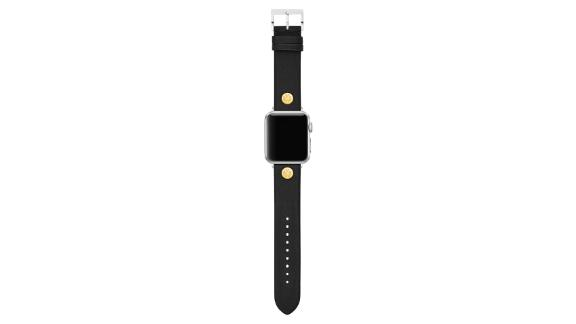 Tory Burch Leather Apple Watch Strap