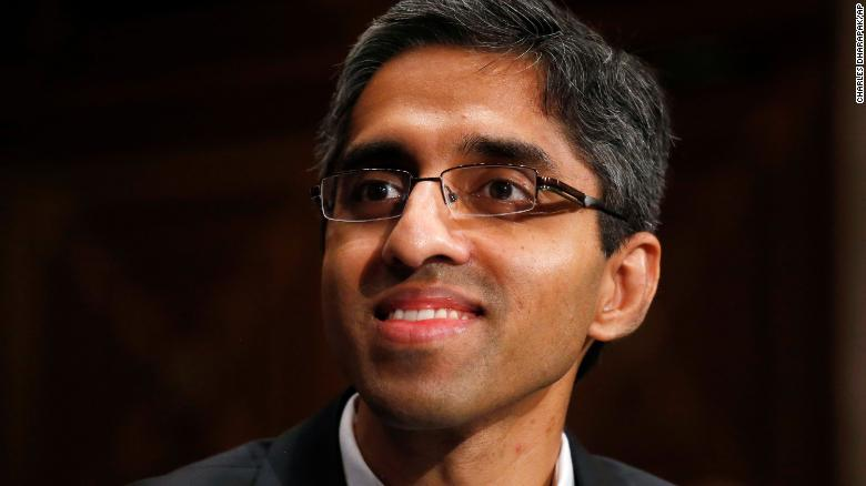 In this Feb. 4, 2014, photo, then U.S. Surgeon General appointee Dr. Vivek Murthy appears on Capitol Hill in Washington.