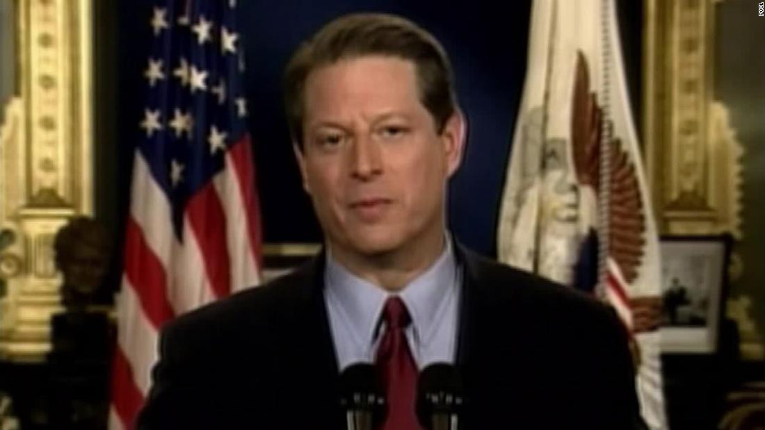 Analysis: Al Gore conceded on this date. Trump still hasn't