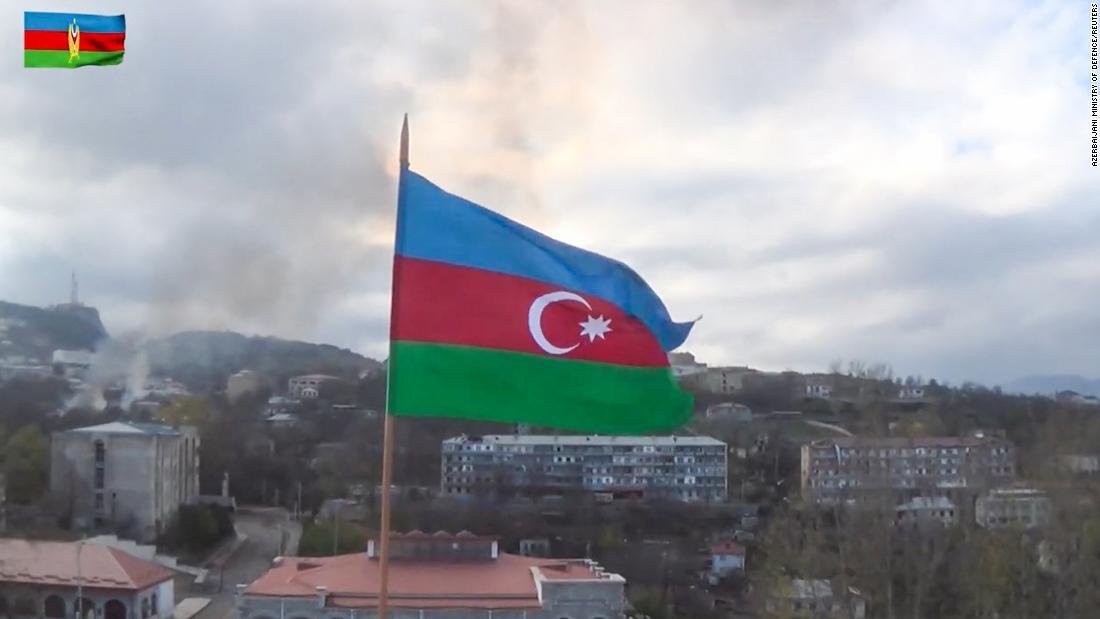 Azerbaijan claims capture of key city in Nagorno-Karabakh – CNN