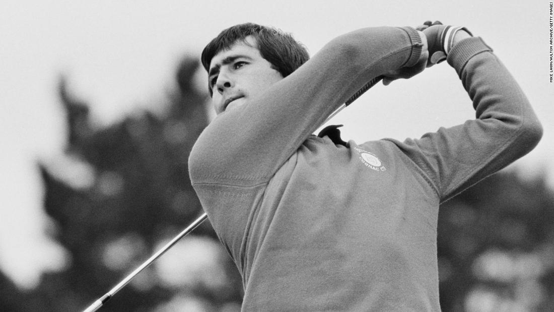 Seve Ballesteros: 40 years since an iconic Masters win