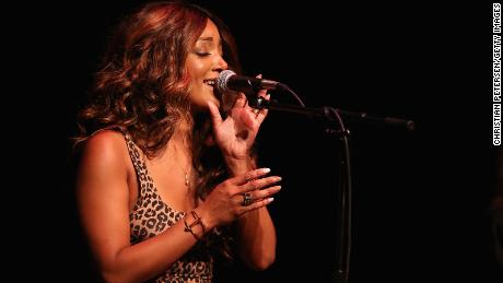 Mickey Guyton performs during the Country Music Association's CMA Songwriters Series on August 21, 2019 in Phoenix, Arizona.