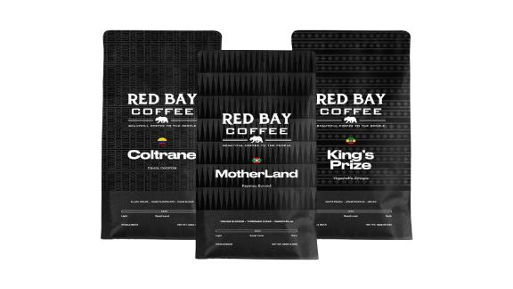 Whole Coffee Beans Red Bay Motherland 3-Pack Gift Collection