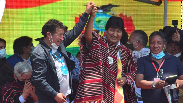 Bolivia's former President Evo Morales returns home after a year in exile