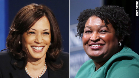 Kamala Harris and Stacey Abrams