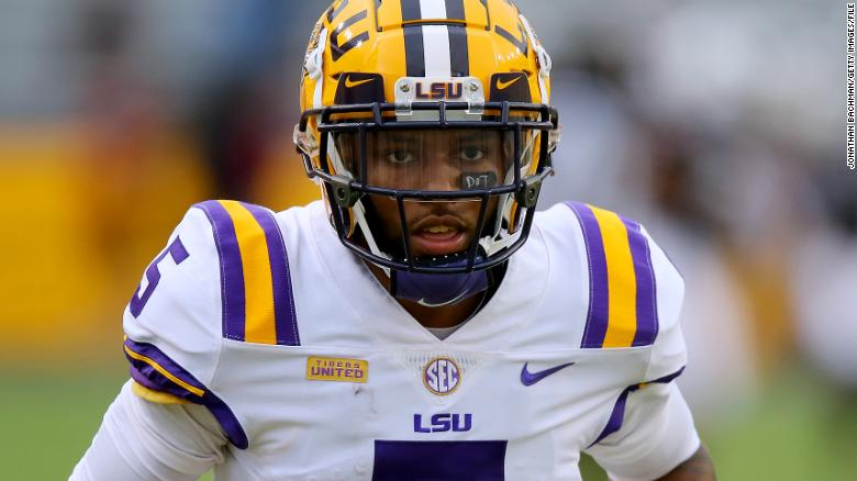 Three Baton Rouge police officers on leave after LSU football player says he was 'violated numerous times'