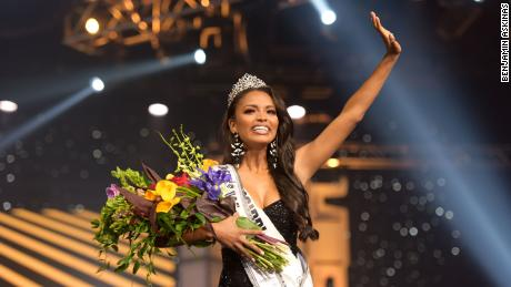 """Asya Branch was in disbelief when she was crowned Miss USA 2020, asking herself afterward, """"What just happened?"""""""