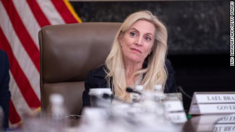 "US Federal Reserve Governor Lael Brainard attends a ""Fed Listens"" event at the Federal Reserve headquarters on October 4, 2019, in Washington, DC."