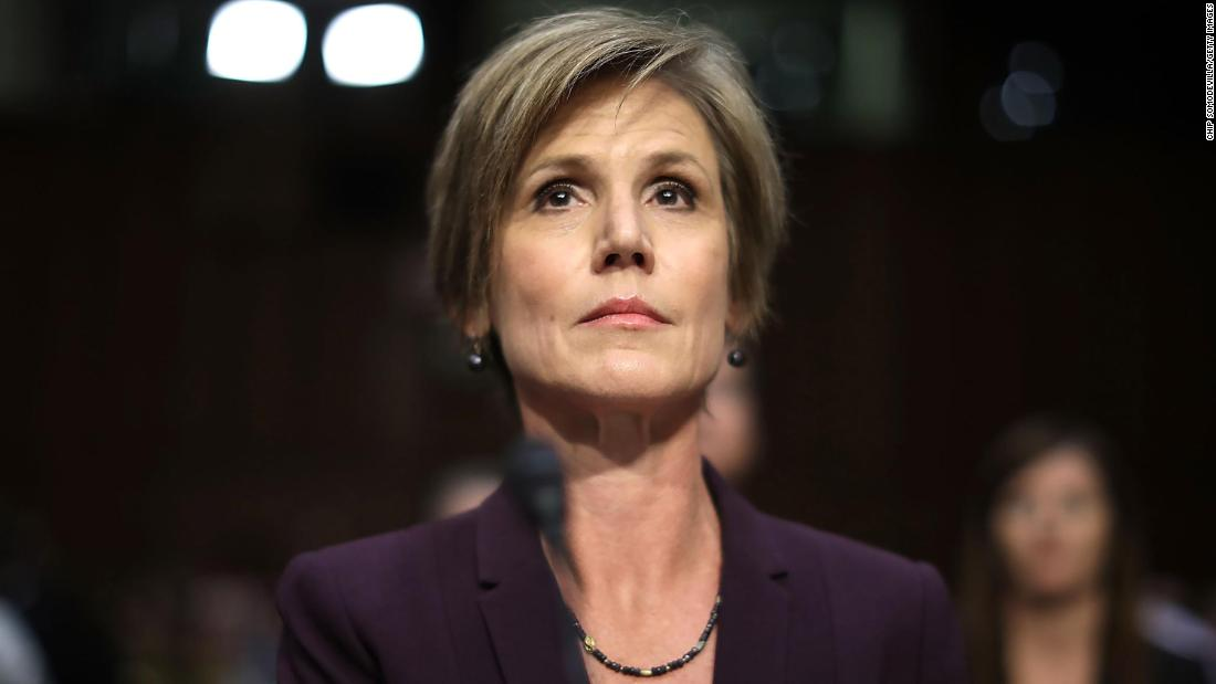 Sally Yates: I never thought that I'd be saying, 'Yeah, go Liz Cheney'