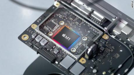 The new M1 chip will power Apple's Mac lineup going forward.