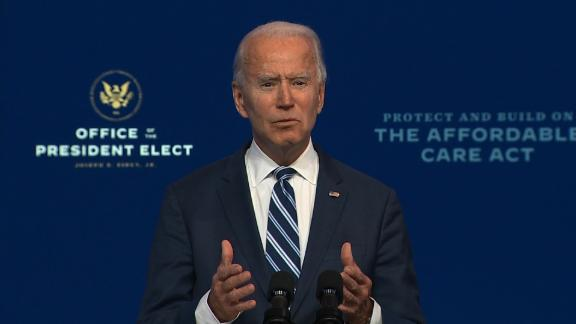 Image for Biden says Trump's actions are 'an embarrassment' but won't impede transition effort