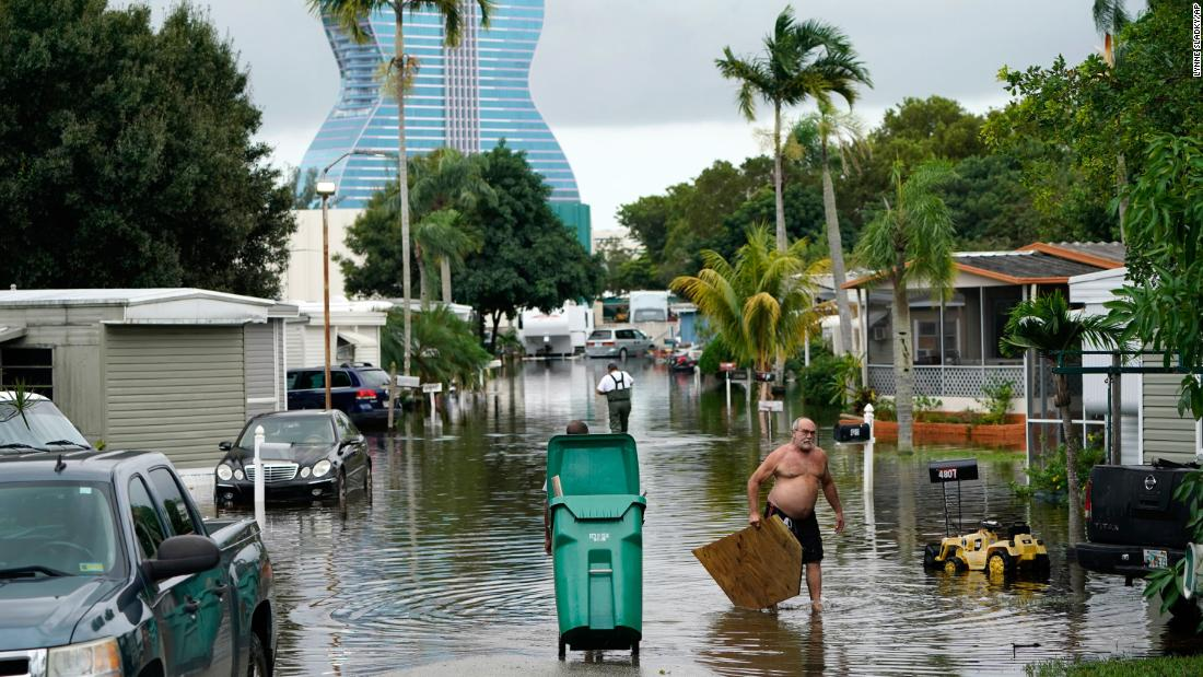 Tropical Storm Eta could become a hurricane once again as it veers toward Florida – CNN