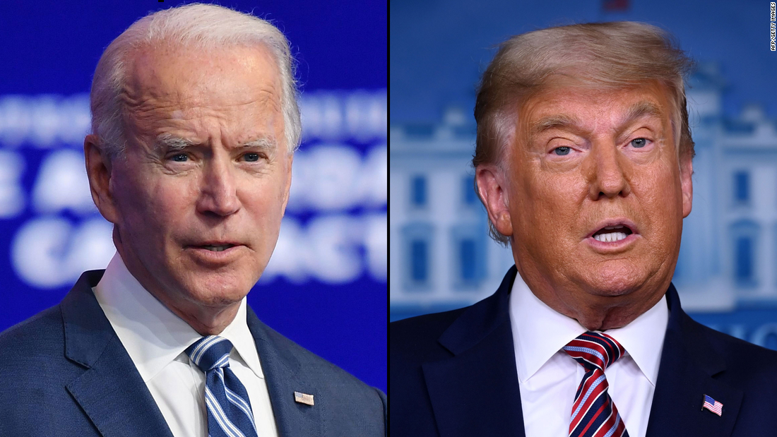 Joe Biden says he would meet with Trump if Trump asked