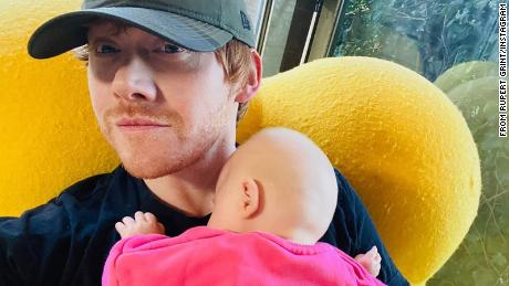 Rupert Grint has joined Instagram to introduce his new baby