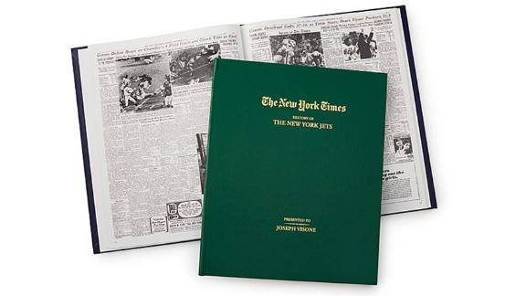 New York Times Custom Football Book