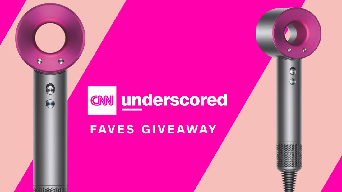 Win a Dyson Supersonic™ Hair Dryer in the Underscored Faves Giveaway
