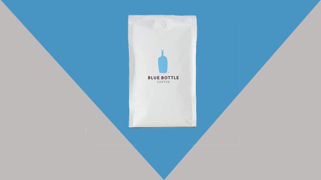 Suscripción al café con botella azul