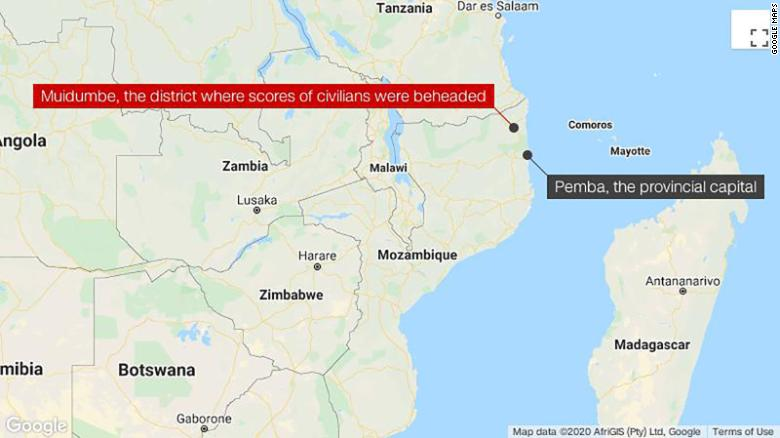 Militant Islamic group terrorizes Mozambique
