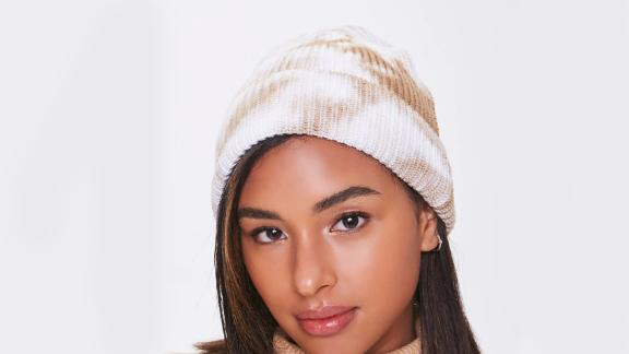 Forever 21 Ribbed Tie-Dye Beanie