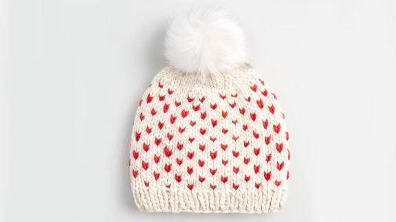 Heart and Soul Fair Isle Pom-Pom Hat