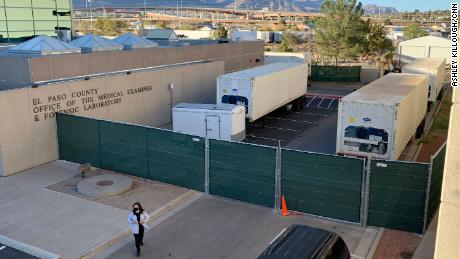Closed storefronts, overwhelmed hospitals and mobile morgues: El Paso residents hit hard by coronavirus