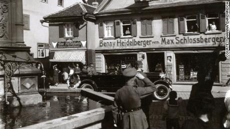 Benjamin Heidelberger was forced to sell his store in Bad Mergentheim, southern Germany