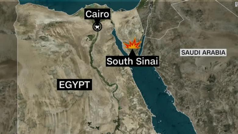 US personnel involved in helicopter crash in Egypt