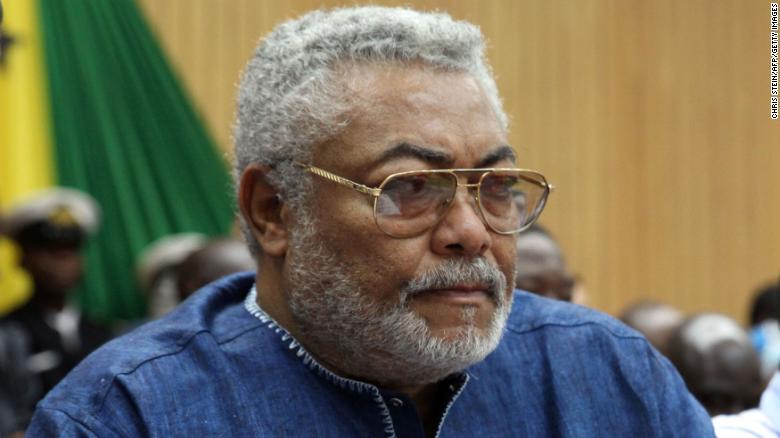 Ghana's former president Jerry Rawlings dies