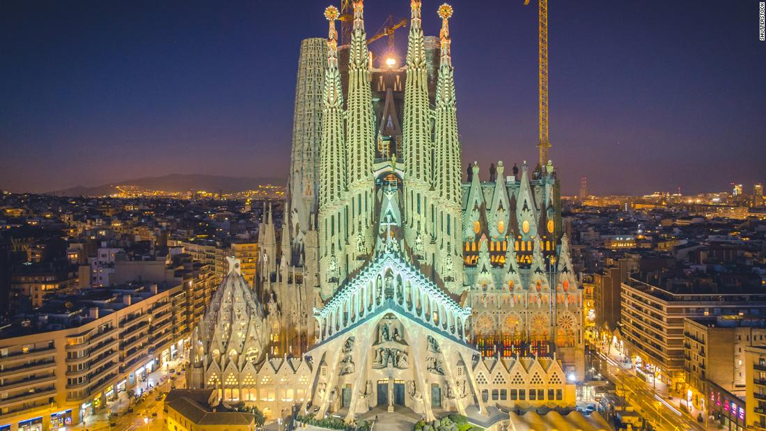 How Robots Saved One Of The World S Most Unusual Cathedrals Cnn Style