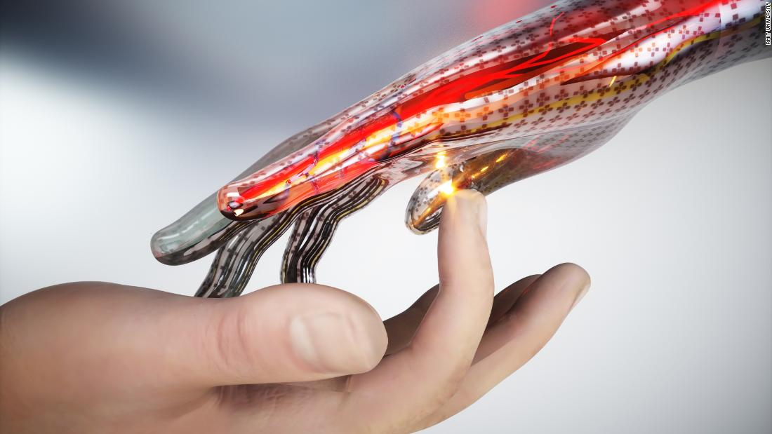 New artificial skin can feel real pain