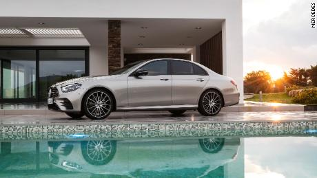 The Mercedes E-Class includes four-door sedans, two-door coupes and convertibles and wagons.