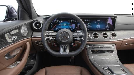 MotorTrend staffers were impressed with the interior design of the Mercedes E-Class, but not with its hard-to-use interfaces.
