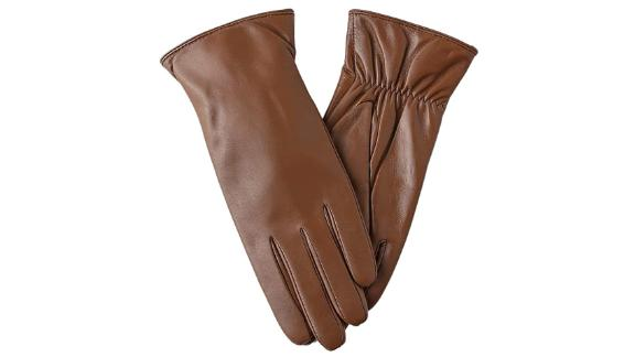 Feiqiaosh Leather Touchscreen Gloves