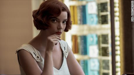 Beth Harmon yang diperankan oleh Anya Taylor-Joy, dalam The Queen & # 39; s Gambit.