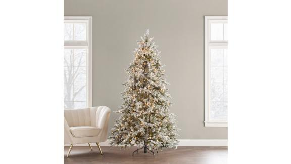 The Holiday Aisle Sierra 7.5-Ft White Spruce Artificial Christmas Tree