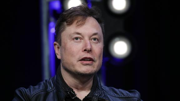 Elon Musk, Founder and Chief Engineer of SpaceX, speaks during the Satellite 2020 Conference in Washington, DC, United States on March 9, 2020. (Photo by Yasin Ozturk/Anadolu Agency via Getty Images)